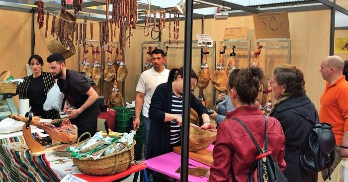 La Feria Hecho en La Alpujarra finaliza con gran éxito de público