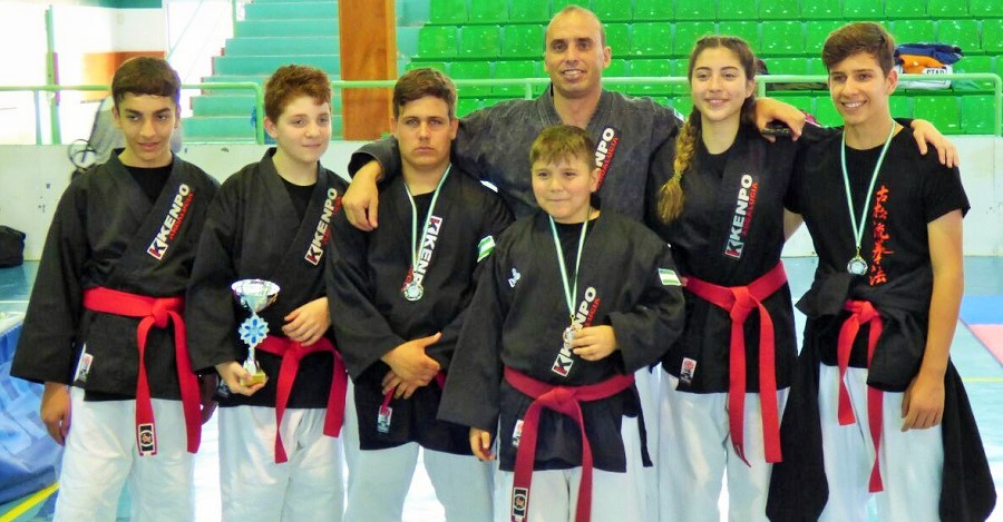 Magníficos resultados del Club Kosho Ryu Motril en el Campeonato de España de Kenpo senior