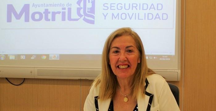 María Ángeles Escámez, teniente de alcalde en el Ayuntamiento de Motril y responsable de Seguridad
