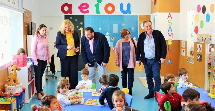 Motril inaugura una nueva Escuela Infantil conveniada con la Junta