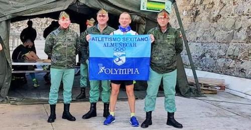 Participación del Club Atletismo Sexitano en laIII Carrera Cívico-Militar 'Cuna de la Legión_