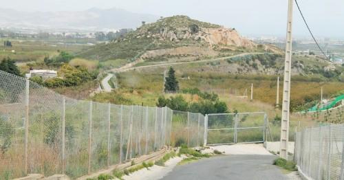 Salobreña_Camino rural