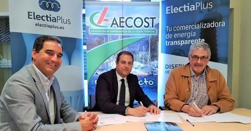 AECOST y la empresa Electia Plus firman un convenio de colaboración