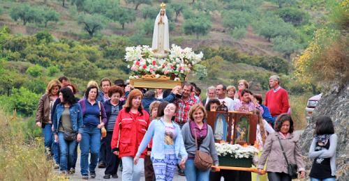 Almuñécar_Romería de la Virgen de Fátima del Cerval, en La Herradura
