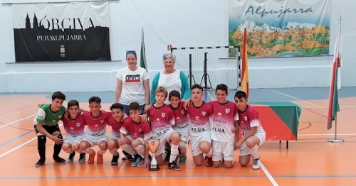 Órgiva sede de la Copa Diputación Infantil de Fútbol Sala