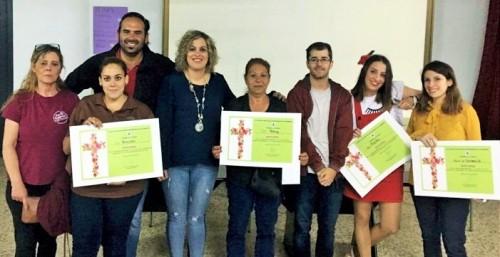 Cafetería Pereira y calle La Fuente ganan el Concurso de Cruces en Salobreña