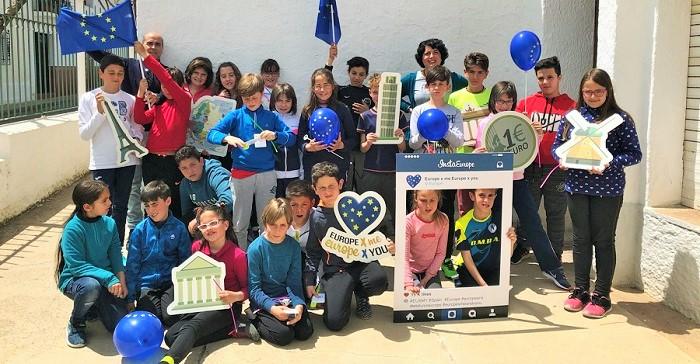 Diputación celebra el Día de Europa con 200 escolares de Primaria