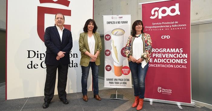 Diputación inicia una nueva campaña contra el tabaquismo en 56 municipios