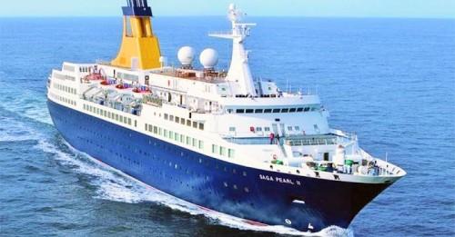 El crucero Saga Pearl II escala mañana en Motril por segunda vez esta temporada