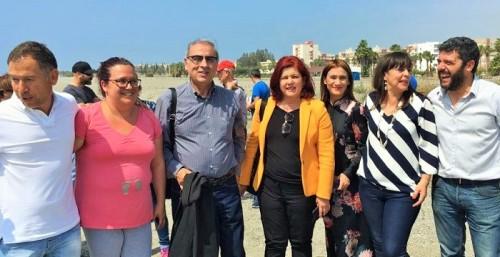 El PSOE exige al Gobierno de Rajoy que acometa el proyecto de regeneración para las playas de Albuñol