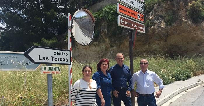 El PSOE pide al Gobierno que subsane el sistema hidrológico de la A-44 a su paso por Vélez.jpg
