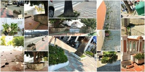 El PSOE pide más limpieza y cuidado en los espacios públicos de La Herradura