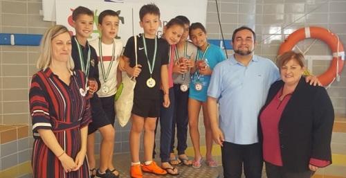 Final de los VIII Juegos Escolares en el Medio Acuático