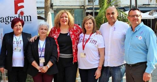 Foto de familia con los miembros de AGRAFIM