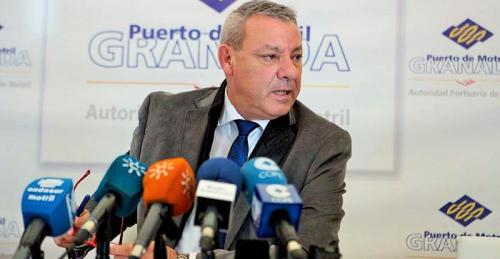 Francisco Álvarez de la Chica, presidente de la Autoridad Portuaria de Motril.png