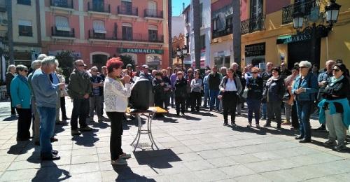 La Plataforma de los pensionistas convoca para el 5 de mayo una nueva concentración en Almuñécar