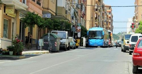 Las obras de la calle Ancha obligarán a desviar el tráfico rodado