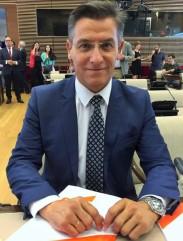 Luis Salvador, diputado granadino de Ciudadanos en el Congreso de los Diputados