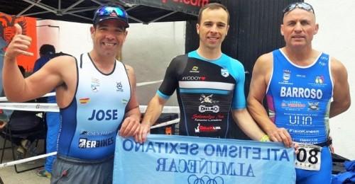 Participación del Club Atletismo Sexitano en la 5ª Triatlón Sprint Universidad de Granada