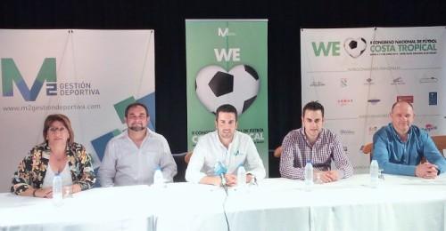 Presentación en Motril del Congreso Nacional de Fútbol