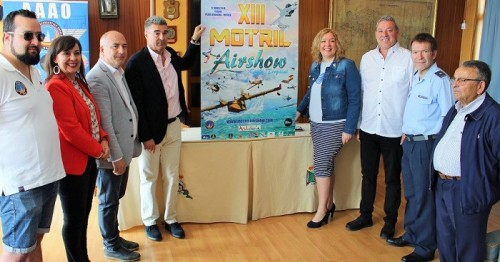 Presentado el cartel del XIII Festival Aéreo de Motril