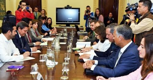 Reunión en Granada con el secretario de Infraestructuras de Fomento