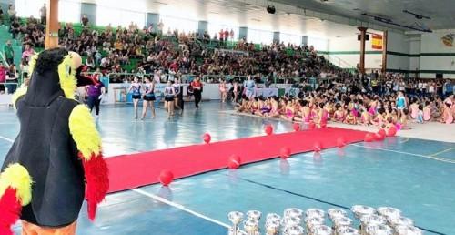 Una veintena de metales sumaron la gimnastas de la Escuela Solange Janssens en el Circuito Costa Tropical