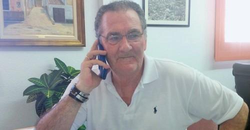 Antonio Escámez, teniente alcaldes de Urbanismo y Obras Públicas