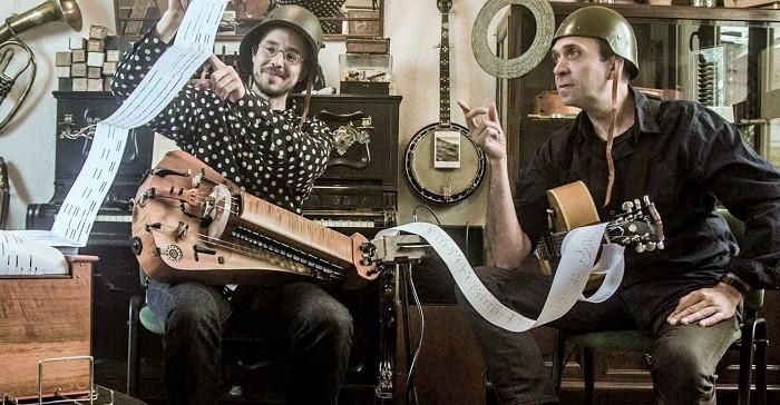 """Brigada Bravo&Díaz presentarán su espectáculo """"Músicas en Guerra"""" en el Festival Tendencias de Salobreña"""