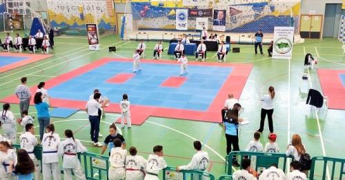 Éxito de la III Copa Ciudad de Motril de Taekwondo con más de 270 deportistas