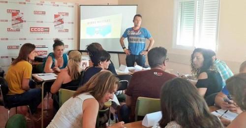 CCOO imparte en la Costa un seminario sobre Riesgos Psicosociales.jpg