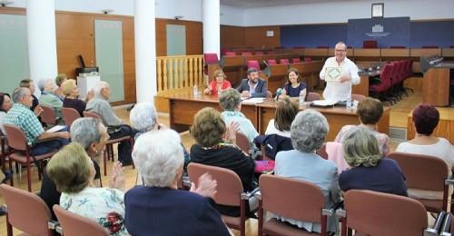 Despedida del coordinador Aula Permanente de Formación Abierta para mayores de la UGR en Motril