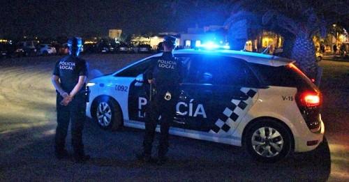 Dispositivo de seguridad en las playas en Motril tras la noche de San Juan 2018.jpg