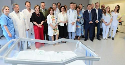 El hospital de Motril estrena área de hospitalización pediátrica tras una reforma integral sobre más de 750 m²