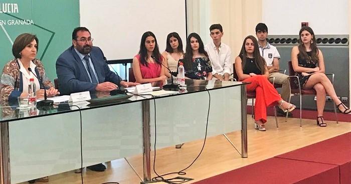 La Junta de Andalucía reconoce a los mejores expedientes de las Pruebas de Acceso a la Universidad en la provincia.jpg