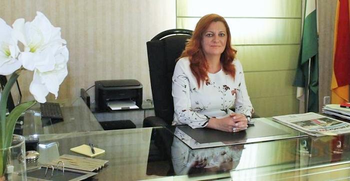 María Eugenia Rufino, alcaldesa de Salobreña