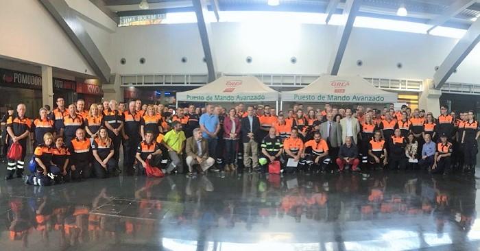 Más de 200 voluntarios en la Jornada Provincial de Protección Civil