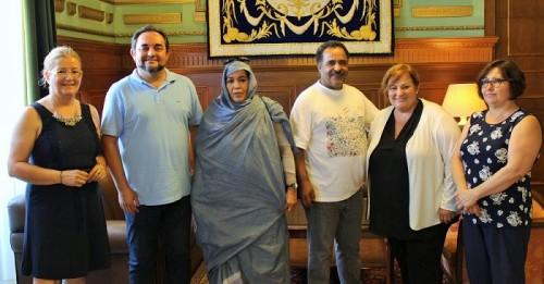 Motril recibe la visita de una delegación del pueblo saharaui de Aguenit