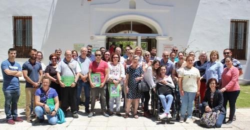 Motril_Foto de familia con los participantes del curso Empleo y Diversidad Funcional