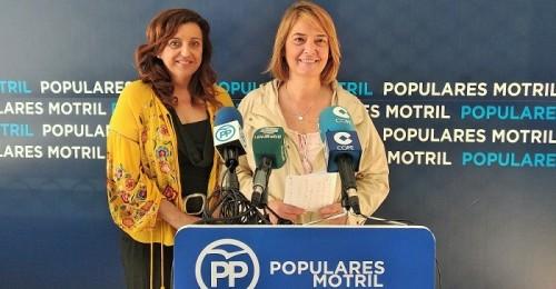 Para el PP la 'Sra. Almón es un fraude para Motril'