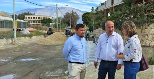 Sergio García visita las obras de Mancomunidad en Castell de Ferro.jpg