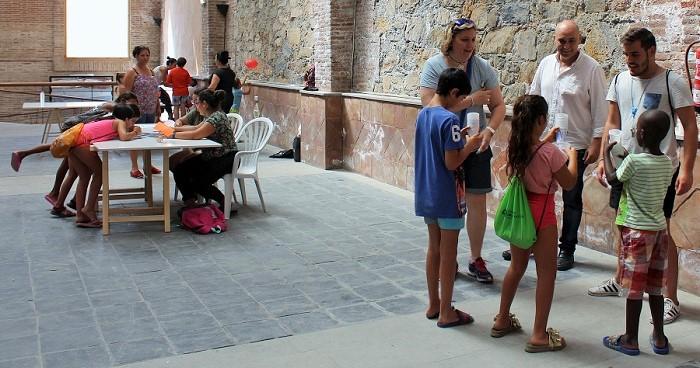 50 niños de los barrios Huerta Carrasco y San Antonio participan en la actividad 'Uno para ganar_