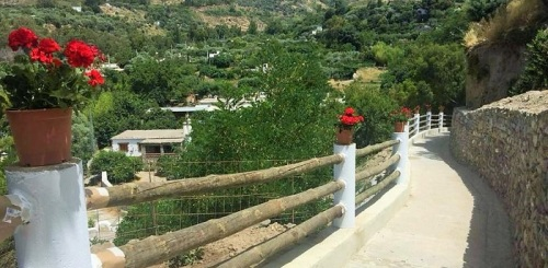 Órgiva rehabilita el Camino de la Tejilla recuperando así un espacio histórico