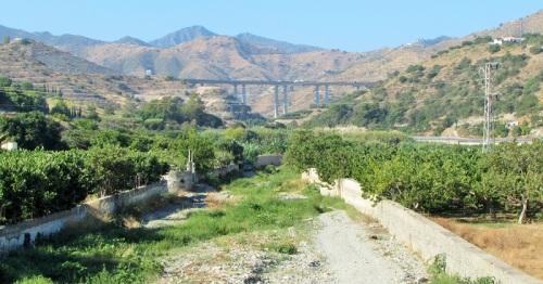 Cauce del río Jate en La Herradura_Almuñécar