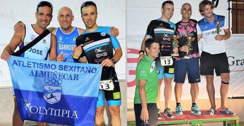 Club Atletismo Sexitano en el I Triatlón Cross Villa de Castril