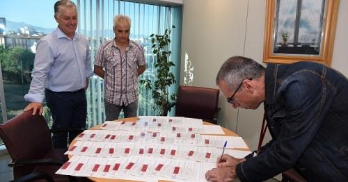 Diputación radiografía la situación de los caminos rurales de la provincia para abordar su mejora