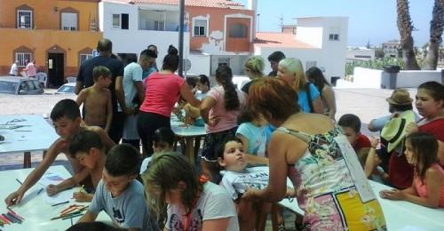 El barrio de Cerrillo Jaime inicia sus fiestas con gran ambiente y diversión