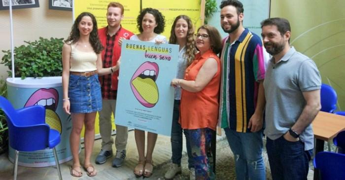 El IAJ lleva a la población juvenil de doce municipios granadinos la campaña 'Buenas Lenguas, Buen Sexo_
