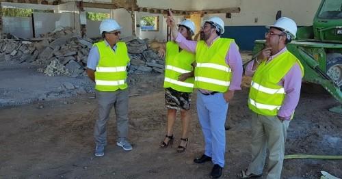 El IES La Zafra acoge este verano las obras de modernización y ampliación de las instalaciones para Automoción
