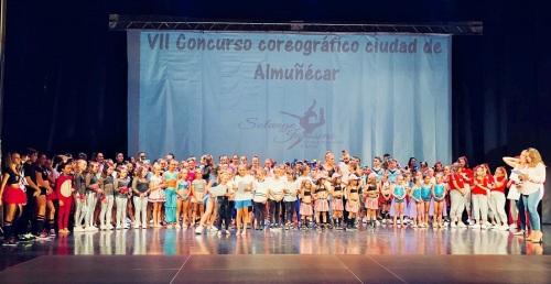 El VII Concurso Coreográfico 'Ciudad de Almuñécar' se celebró con éxito